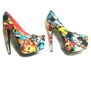 6 inch platform Vogue heels 😍